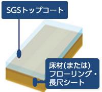 SGSトップコートの構造